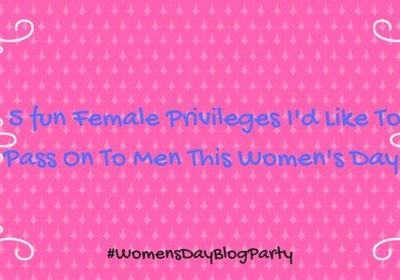 5 female privileges