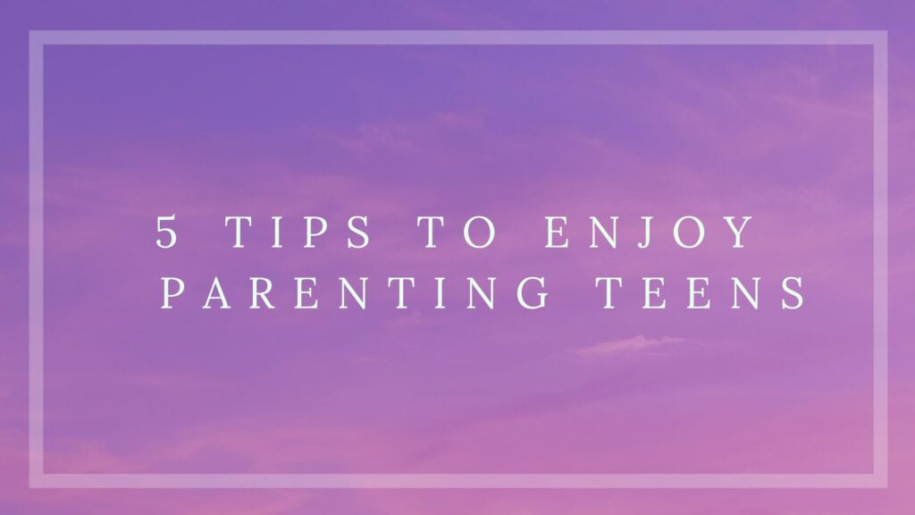 enjoy parenting